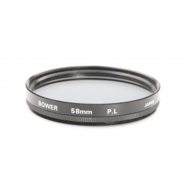 Bower Polfilter Zirkular 58 mm PL Japan E-58 (220769)