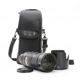 Nikon AF-S 2,8/70-200 G IF ED VR (221010)