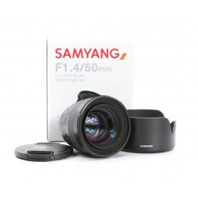 Samyang AS 1,4/50 UMC Ni (221171)