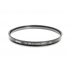 Hama UV-Filter 77 mm UV 390 (0-Haze) (IV) E-77 (220193)