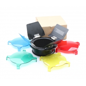 OEM Studio Blitz Reflektor Diffusor Lichtformer Waben 100 mm (220635)