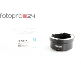 "Novoflex Leica-R Objektivadapter Fuji-X ""FUX/LER"" (207367)"