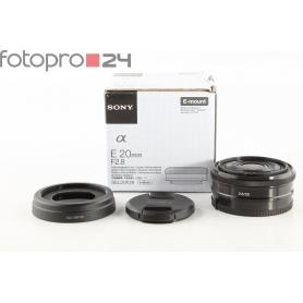 Sony E 2,8/20 Pancake E-Mount (210778)