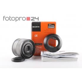 Sony Zeiss Sonnar FE 2,8/35 ZA T* E-Mount (214454)