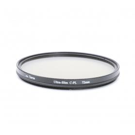 Tama 72 mm Polfilter PRO Ultra-Slim C-PL E-72 (221185)