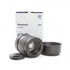 Panasonic Lumix G 1,7/42,5 ASPH Power O.I.S. MFT (221549)