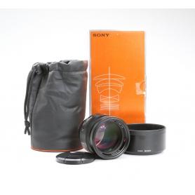 Sony Zeiss Planar T* 1,4/85 ZA (221623)