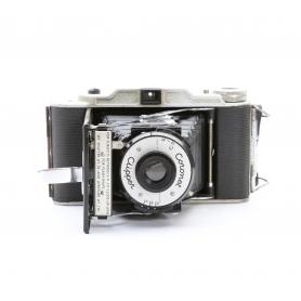 Coronet Clipper Klapp Mittelformat Kamera Vintage (221339)