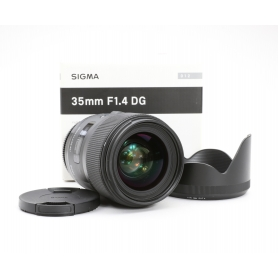 Sigma DG 1,4/35 HSM ART für Sony A-Mount (208067)
