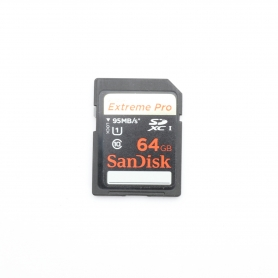 Sandisk SD Karte 64GB 95 MB/s Extreme PRO (221649)