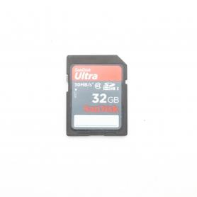Sandisk SD Karte 32GB 30 MB/s (221651)