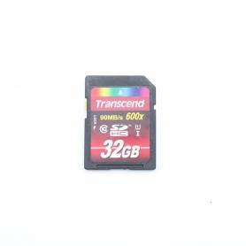 Transcend SD Karte 32GB 90 MB/s 600x (221652)