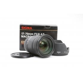 Sigma EX 2,8-4,5/17-70 DC SLD Makro Sony (221821)