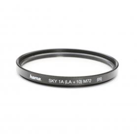 Hama UV-Filter 72 mm SKY 1A (LA + 10) M72 (IX) E-72 (221913)