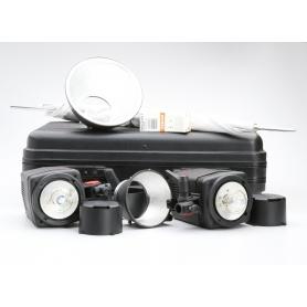 Multiblitz Profilite Compact 200 2x Blitzköpfe Set 400 (221949)