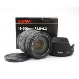 Sigma DC 3,5-6,3/18-200 für Sony A-Mount (222021)