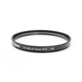 Hama UV-Filter 72 mm UV 390 (0-Haze) (IX) E-72 (222055)