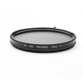 EOM Polfilter CIR. 72 mm Polished PL E-72 (222117)