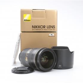 Nikon AF-S 2,8/24-70 G ED (222400)