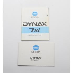 Minolta Bedienungsanleitung Dynax 7xi (222257)