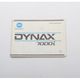 Minolta Bedienungsanleitung Dynax 7000i (222258)