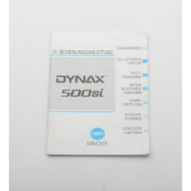 Minolta Bedienungsanleitung Dynax 500si (222269)