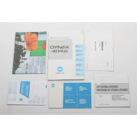 Minolta Bedienungsanleitung Dynax 404si (222270)