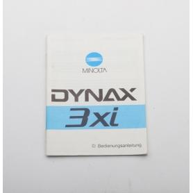Minolta Bedienungsanleitung Dynax 3xi (222273)