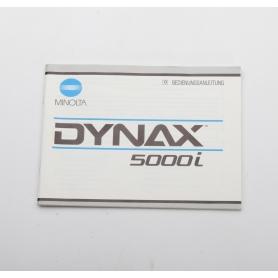 Minolta Bedienungsanleitung Dynax 5000i (222275)