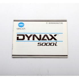 Minolta Bedienungsanleitung Dynax 5000i (222278)