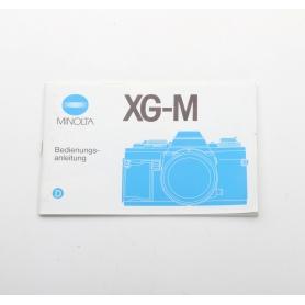 Minolta Bedienungsanleitung XG-M (222283)