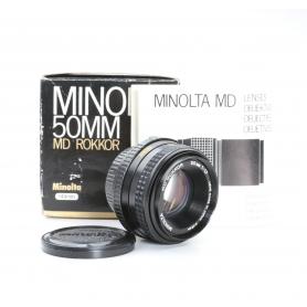 Minolta MD 1,7/50 Rokkor (222805)