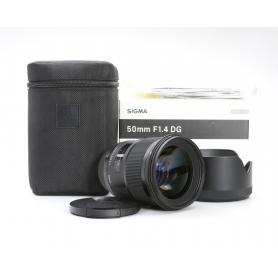 Sigma EX 1,4/50 DG HSM ART NI/AF D (222835)