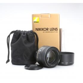 Nikon AF-S 1,8/85 G (222836)
