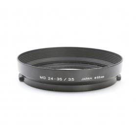 Minolta MD 24-35 mm F3.5 Sonnenblende Lens Hood 55 mm (222915)