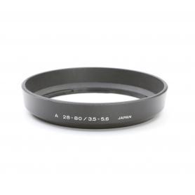 Minolta A 28-80 mm 3.5-5.6 Sonnenblende Lens Hood (222919)