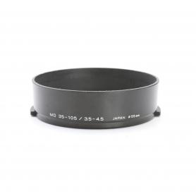 Minolta MD 35-105 mm F3.5-4.5 Sonnenblende Lens Hood 55 mm (222923)