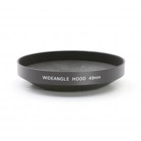 OEM Wideangle Hood 49 mm Sonnenblende Universal Metall (222891)