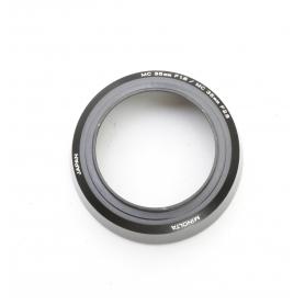 Minolta MC 35 mm F1.8 & 2.8 Sonnenblende Lens Hood 55 mm (222916)