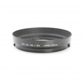 Minolta MD 24-35 mm F3.5 Sonnenblende Lens Hood 55 mm (222921)
