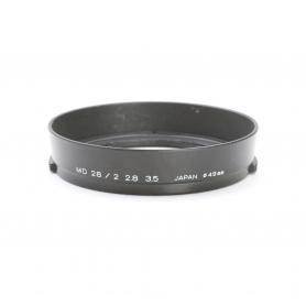 Minolta MD 28 mm F2.0 & 3.5 Sonnenblende Lens Hood 49 mm (222924)