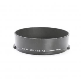 Minolta MD 35-135 mm F3.5-4.5 Sonnenblende Lens Hood 55 mm (222939)