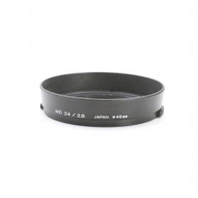 Minolta MD 24 mm F2.8 Sonnenblende Lens Hood 49 mm (222968)