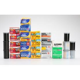 OEM Convolut - Kodak Agfa Fujifilm Ilford - Diverse 35 mm Filme - Abgelaufen (223077)