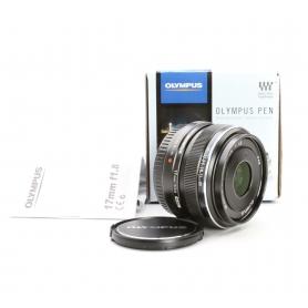 Olympus M.Zuiko Digital 1,8/17 Silver (223130)