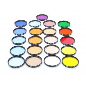 Hoya Filter Set: Diverse Color & Tone Effekt Filter 55 mm E-55 (223196)