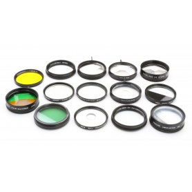 Hoya Filter Set: Diverse Color, Tone & Effect Filter 52 mm E-52 (223290)