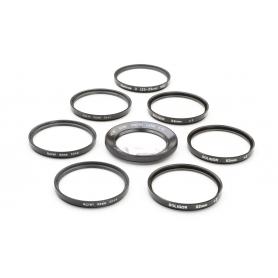 Soligor 8x Set von Close-Up 52 mm Nahlinsen +10 / +4 / +3 / +2 / +1 E-49 Makro (223293)