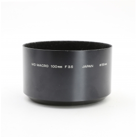 Minolta MD Macro 100 mm F3.5 Sonnenblende Lens Hood 55 mm (223168)