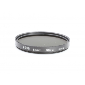 Hoya 55 mm Filter NDx4 Graufilter E-55 (223210)